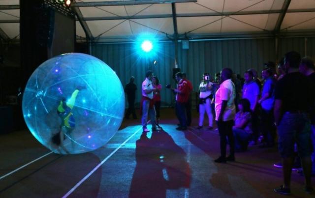 spectacle évènementiel bulle géante