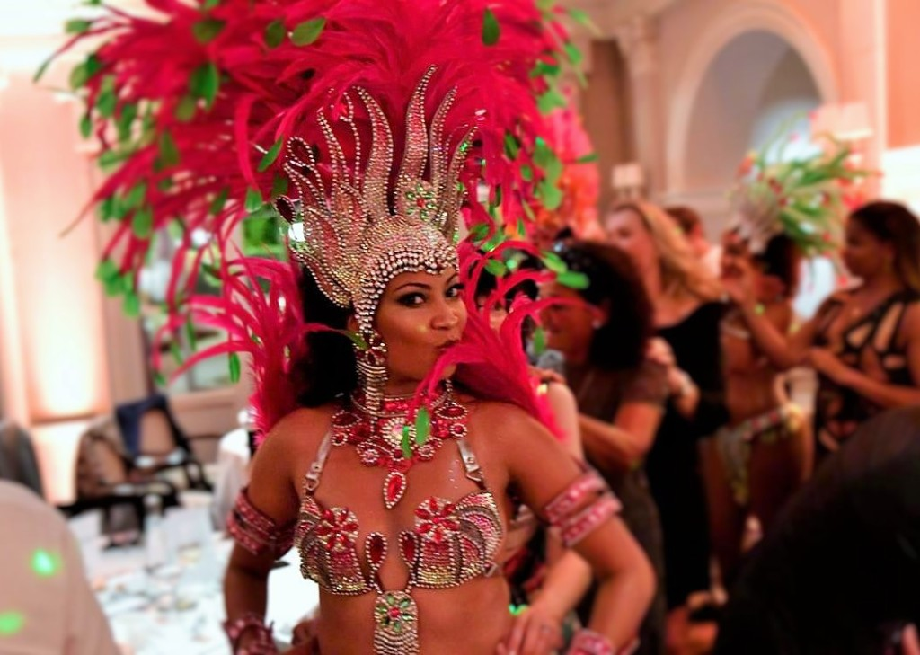 danseuse de samba paris