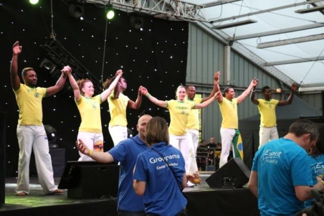 capoeira pour soirée evenementielle