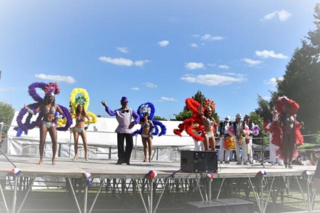 carnaval de cuba danseuses et musiciens