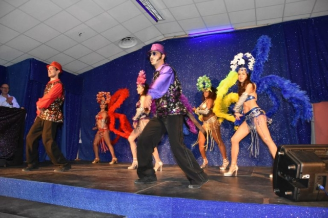 animation spectacle avec danseurs cubains