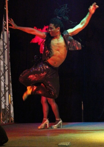 danseur bresilien pour grand evenement