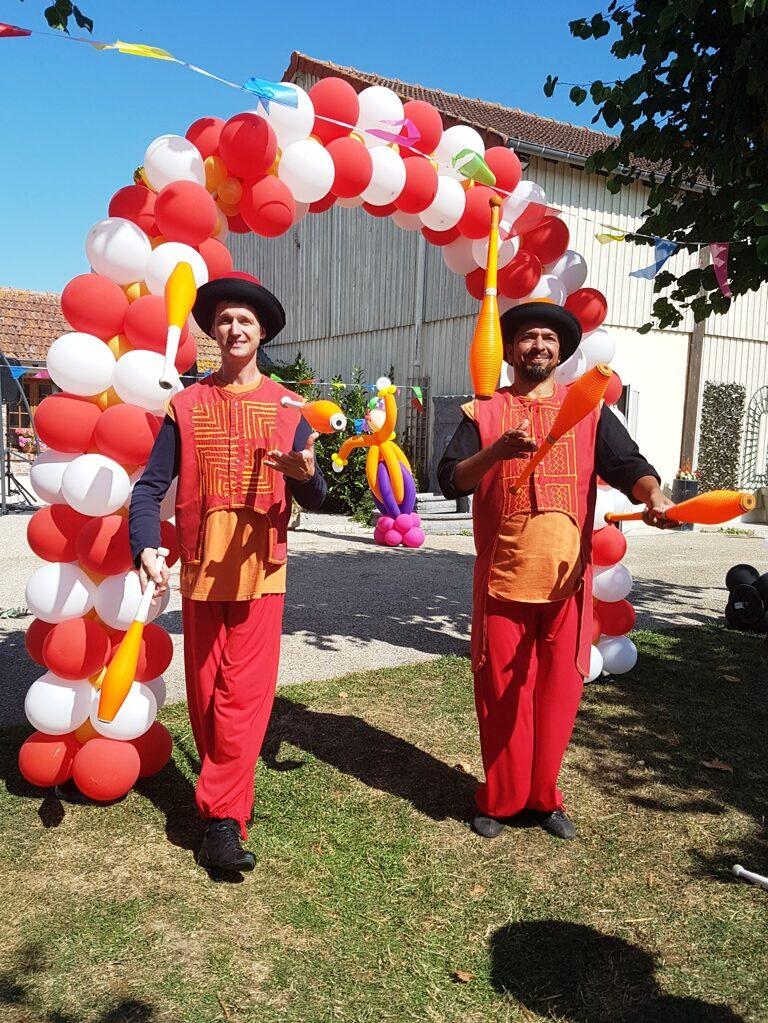 Duo de jongleur professionnel pour divers évènements