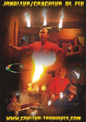 spectacle de feu évènementiel