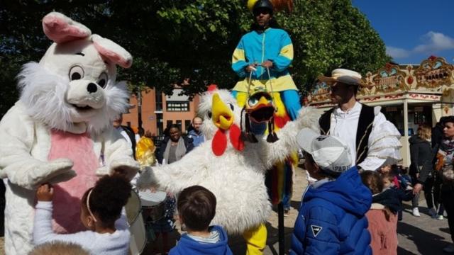 spectacle et animation pour Pâques
